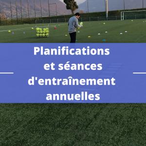 Planifications et séances d'entraînement annuelles